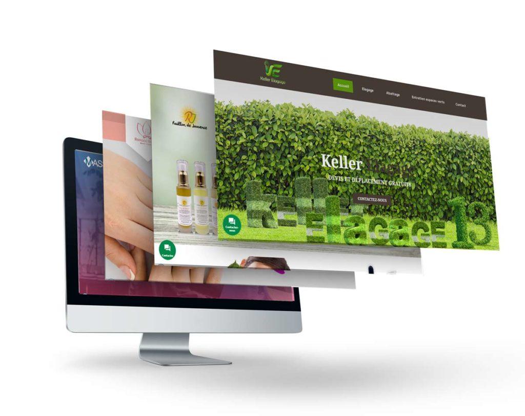 Nos réalisations en création de site web