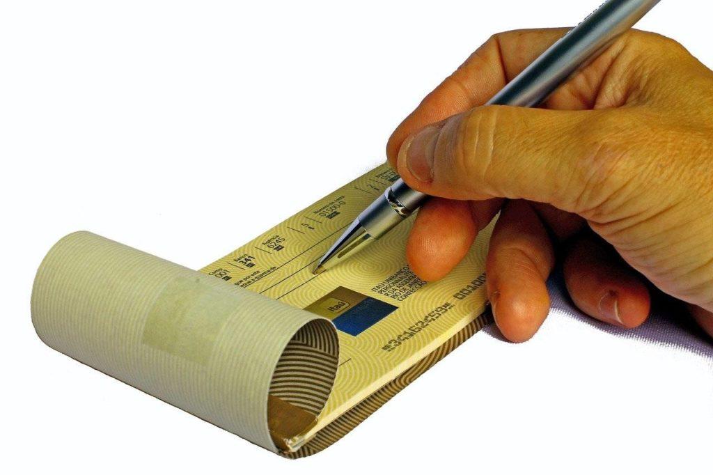 cheque numérique